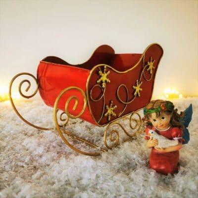 fairy christmas sleigh