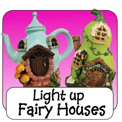 irish light up fairy houses