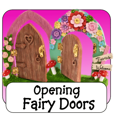 irish opening fairy doors