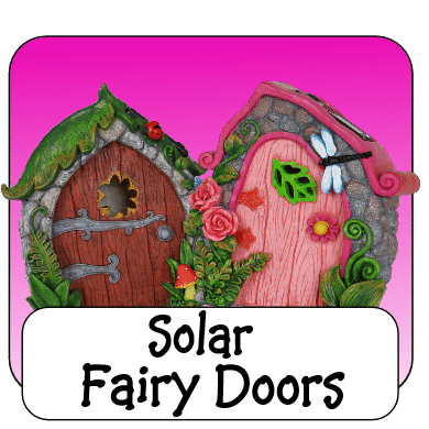 solar irish fairy doors