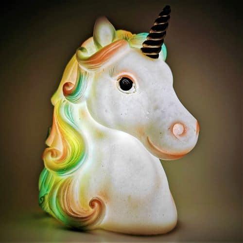 unicorn night light ireland
