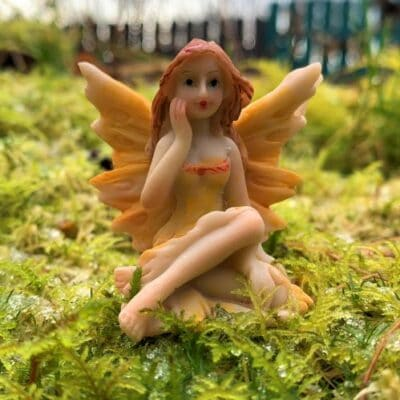 woodland fairy figure