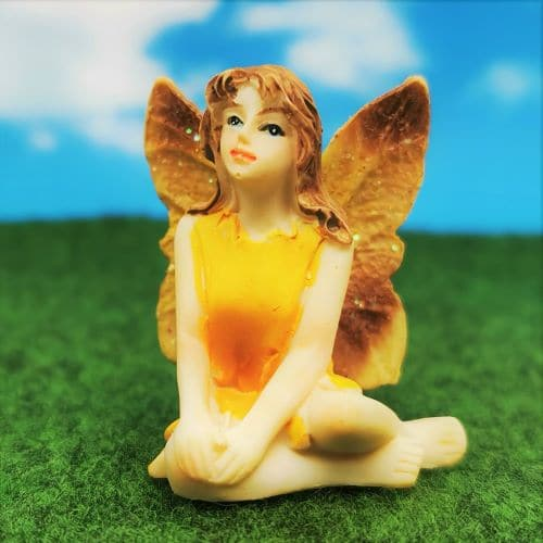sitting fairy ornament