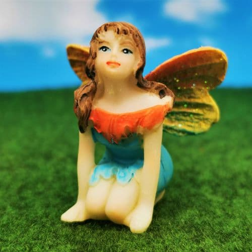 an irish fairy figurine