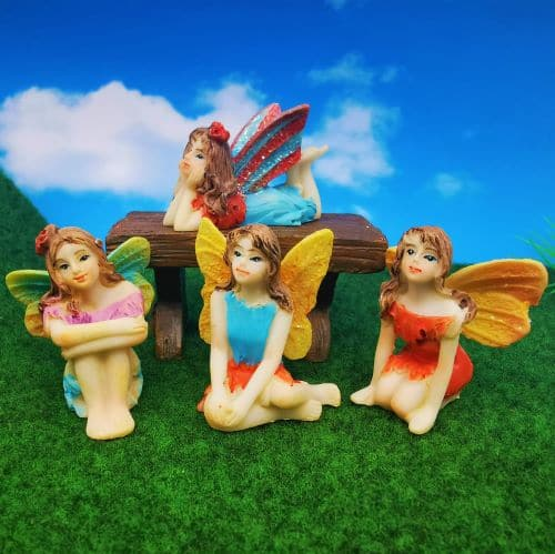 value set of fairy figures