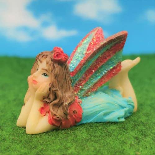 colourful fairy figure