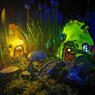 solar fairy garden kit