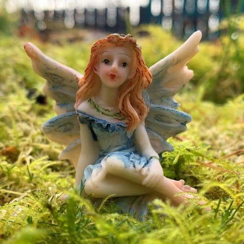 sapphire woodland fairy