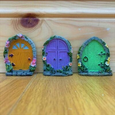 set of fairy doors