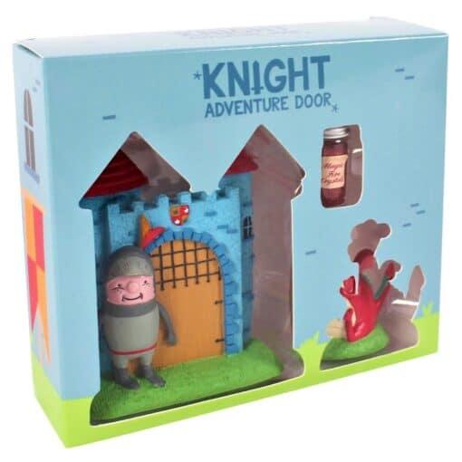 boxed knight adventure door