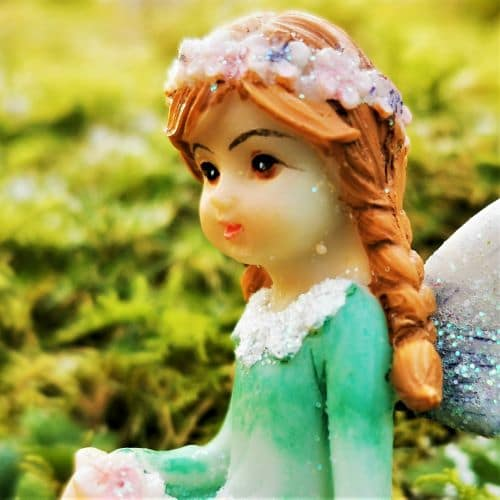 butterly fairy ornament