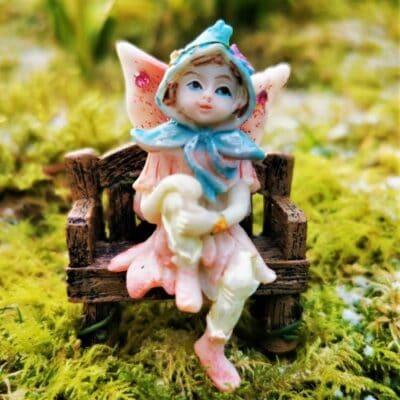 pink fairy figurine ireland