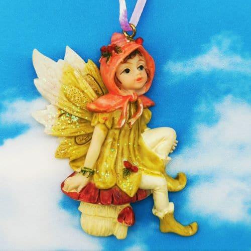 gift card fairy figurine