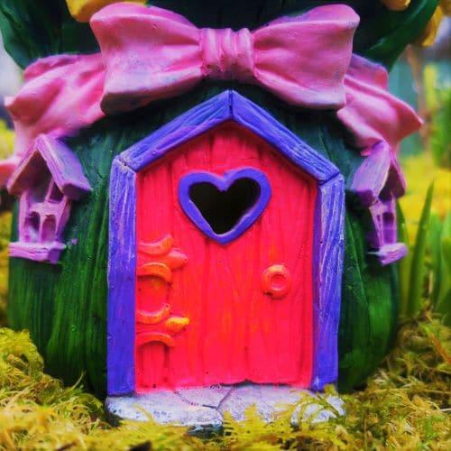 fairy door of house
