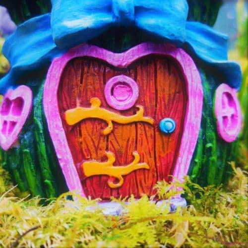 front door of the fairy house