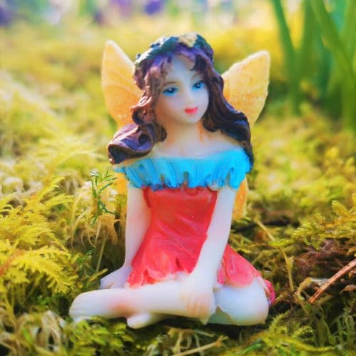 mothers day fairy figurine