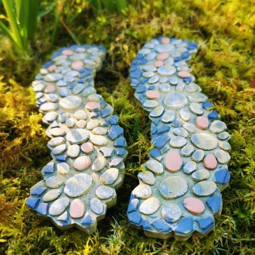 2 fairy garden paths