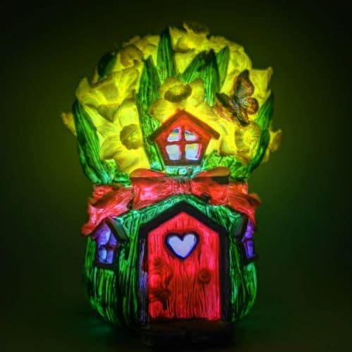 solar fairy houses irish
