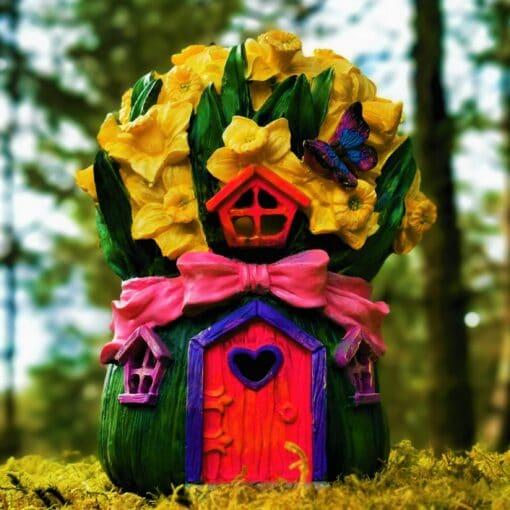 flower solar fairy dwelling