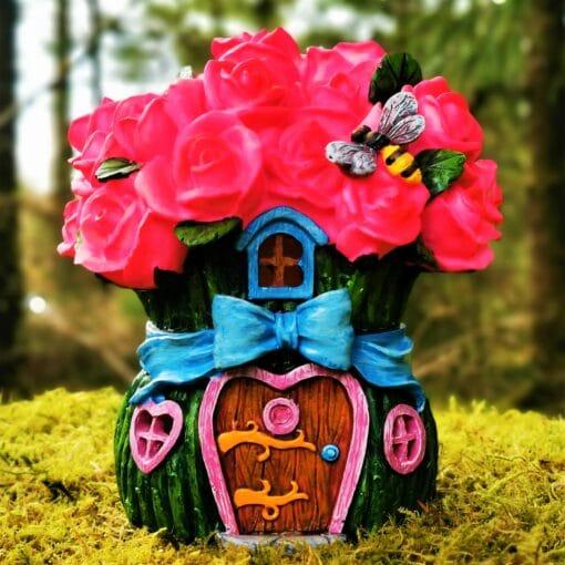 rosebud cottage fairy house