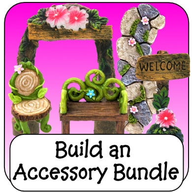 fairy garden accessories bundle