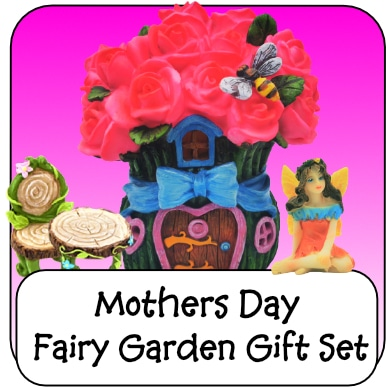 mothers day fairy garden