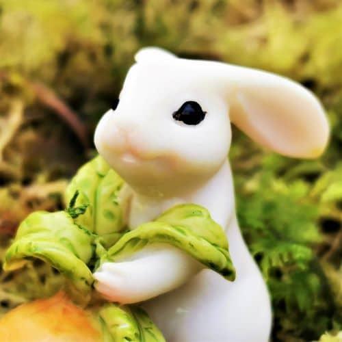 rabbit ornament face