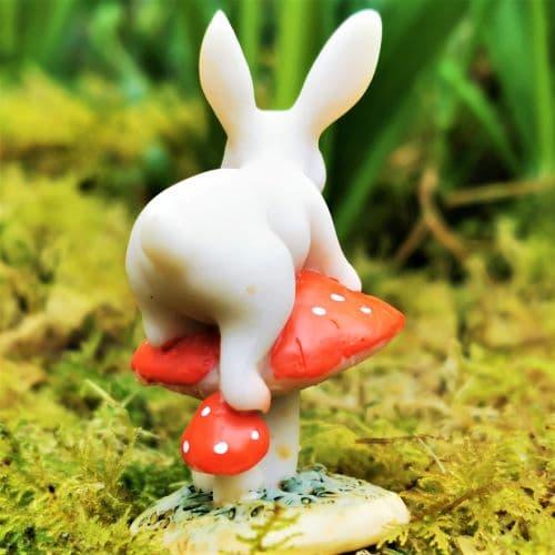 climbing rabbit ornament