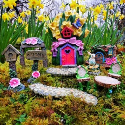 easter miniature garden kit