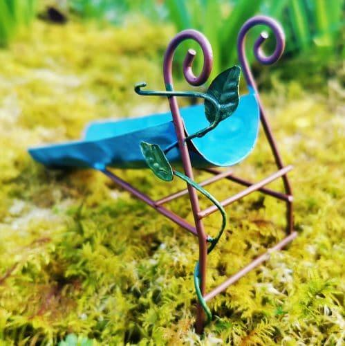 ladder to miniature slide
