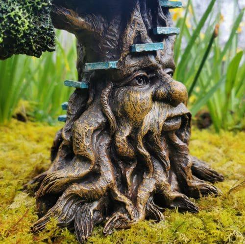 tree beard fairy house