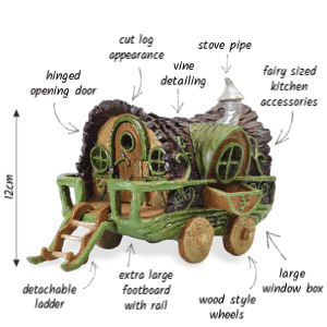 features of the fairy wagon