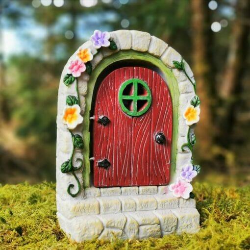 solar opening fairy door