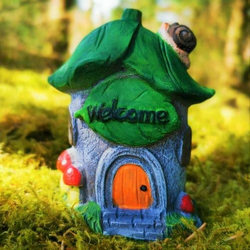 welcome fairy house