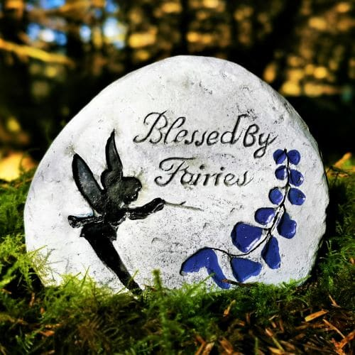 blessed by fairies stone