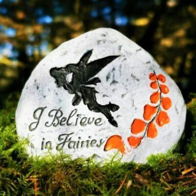 i believe in fairies stone