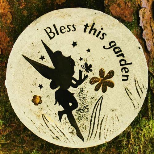 bless this fairy garden