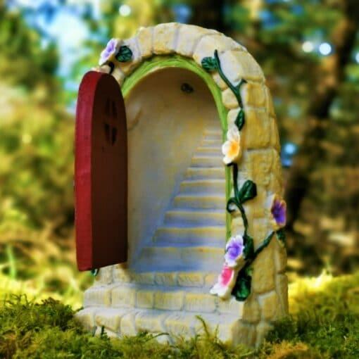 opening light up fairy door