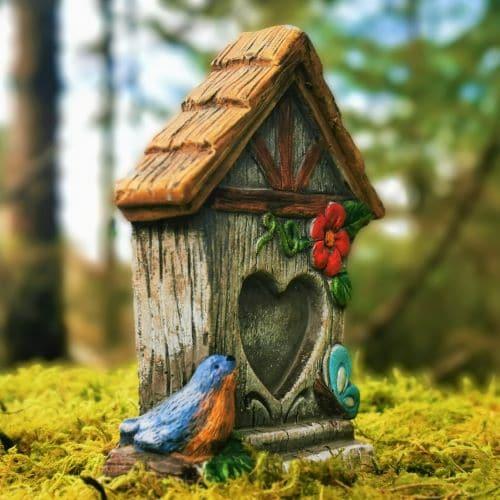 heart shaped fairy door