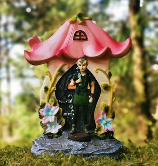 pixie portal door figurine