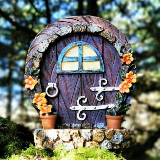 fairy portal in woods