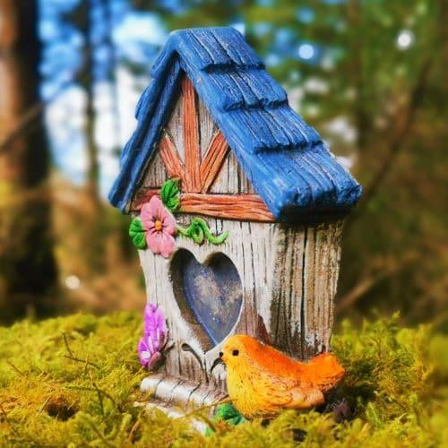bird fairy houses
