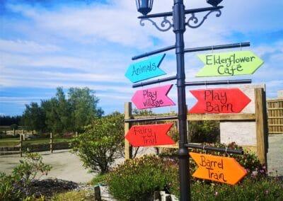 fairy trail signs