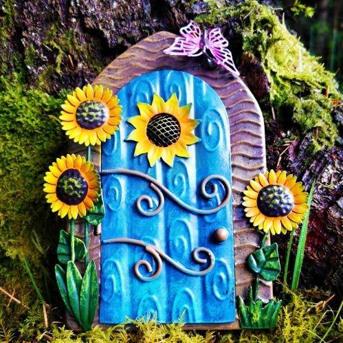 metal fairy door