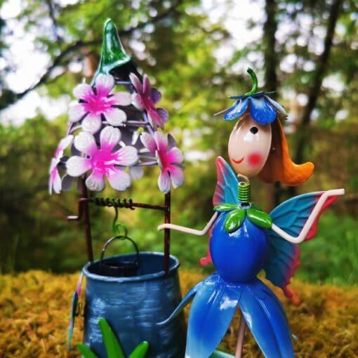 fairy and wishing well