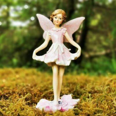 large fairy figurine