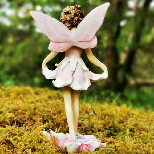 pink fairy figurine