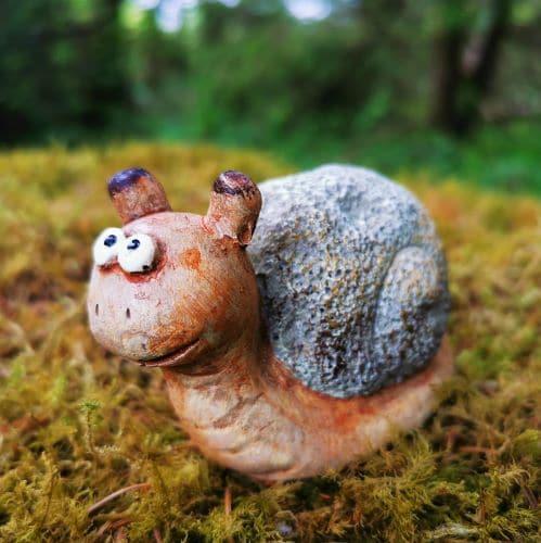 sammy the snail ornament