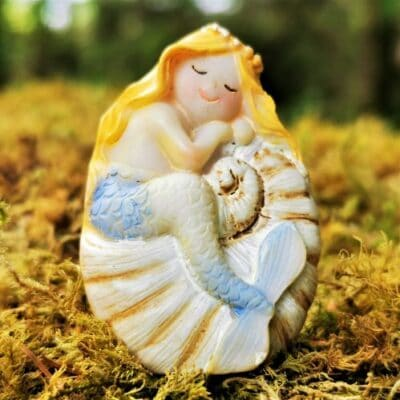 blue mermaid ornament