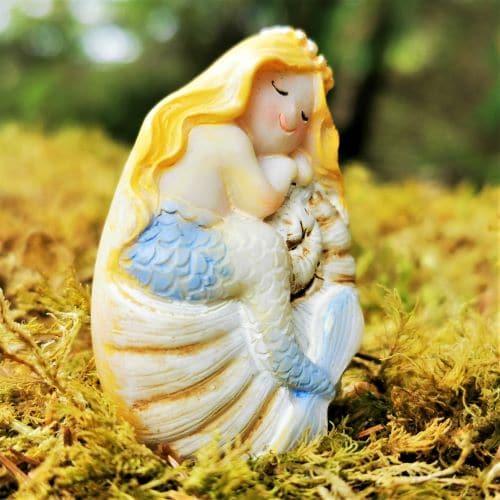 irish mermaid ornament